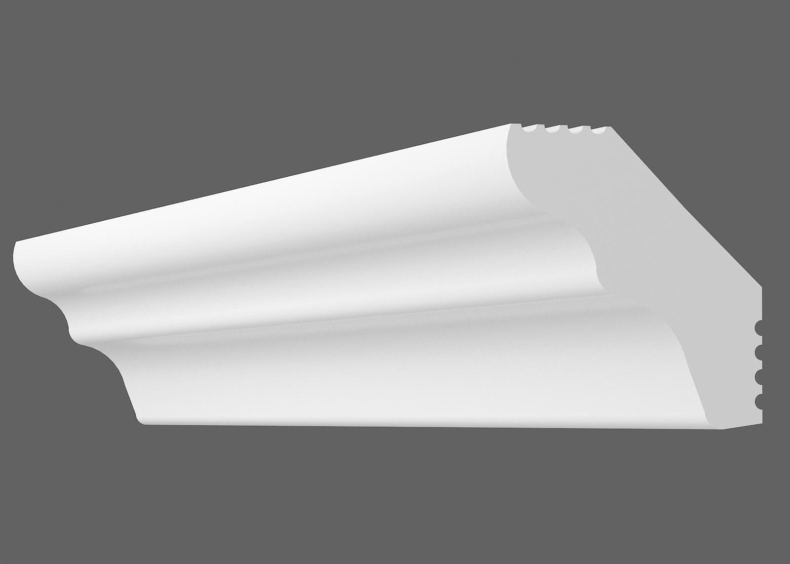 Потолочный плинтус E-25 (Размер:15х25мм)