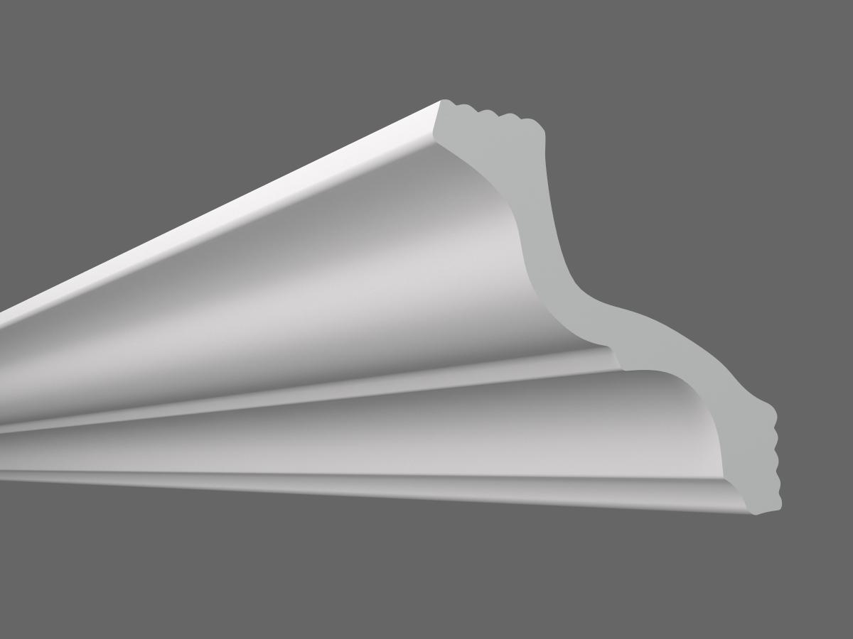 Потолочный плинтус S-110 (Размер:80х85мм)
