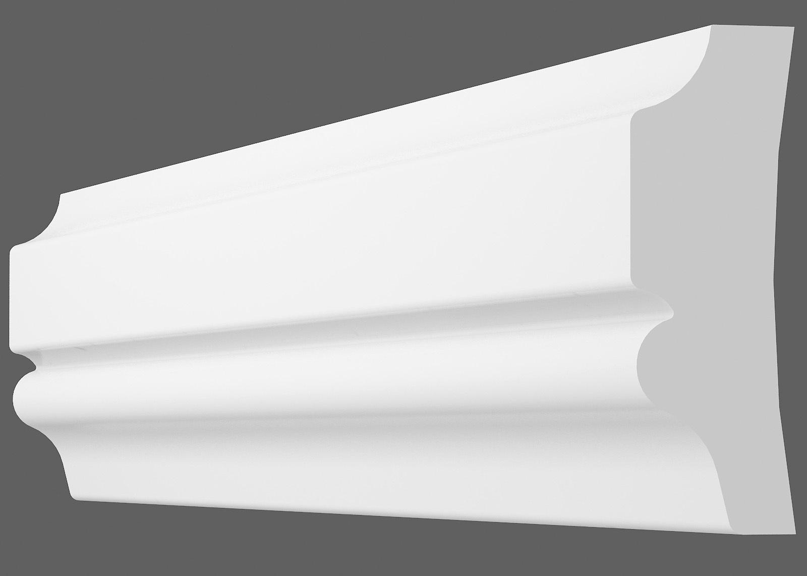 Потолочный плинтус U-35 (Размер:10х30мм)